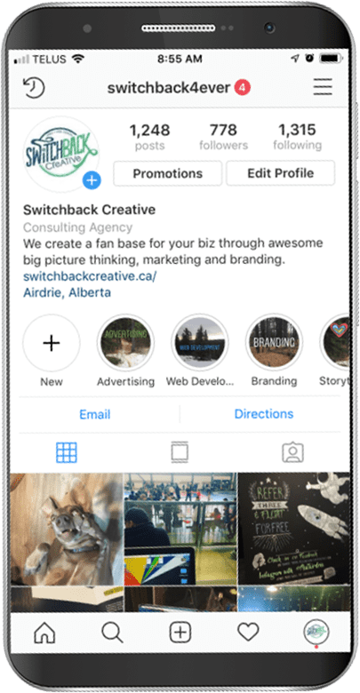 Don't know Where to start? Switchback Creative